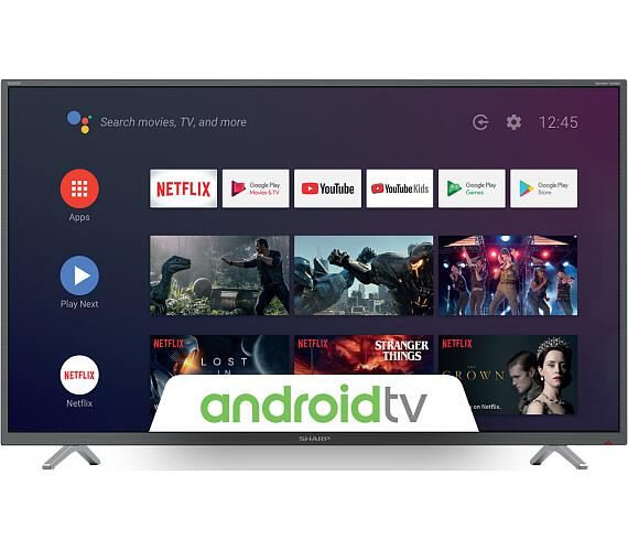 Sharp 50BL2EA + DVB-T2 OVĚŘENO + DOPRAVA ZDARMA
