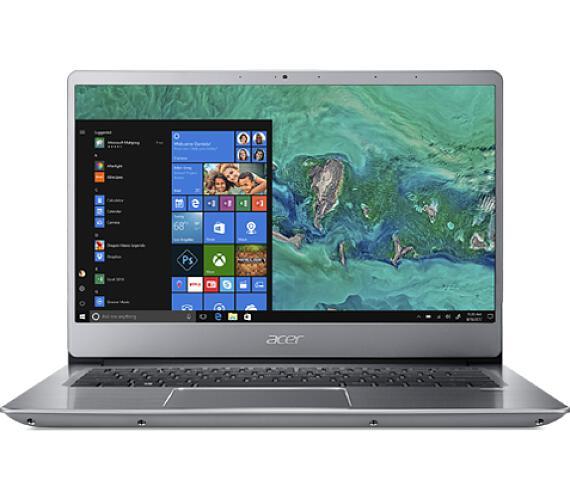 "Acer Swift 3 SF314-54-P4NQ Pentium® Gold 4417U/4GB+N/128GB SSD/14"" FHD Acer matný IPS LED LCD/W10 Home S/ Silver (NX.GXZEC.009)"