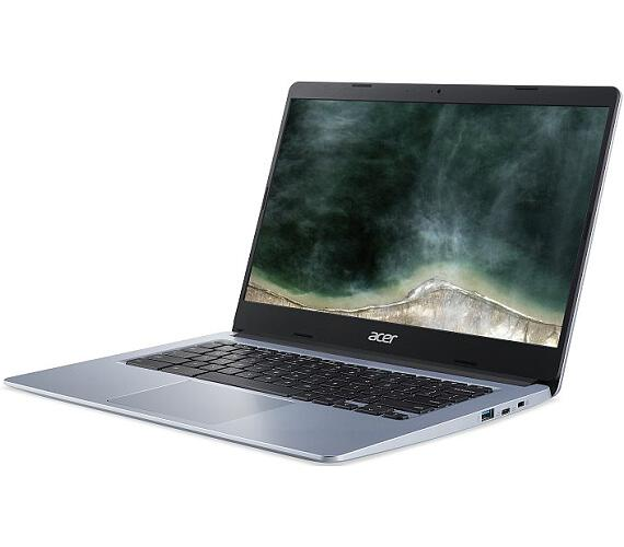 "Acer Chromebook 314 (CB314-1H-C2X0) Celeron N4100/4GB+N/A/eMMC 64GB+N/A/HD Graphics/14"" FHD IPS LED matný/BT/Chrome/Silver (NX.HPYEC."