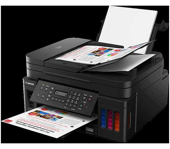 Canon PIXMA G7040 - PSCF/A4/WiFi/LAN/CISS/ADF/DUPLEX/4800x1200/USB (3114C009)