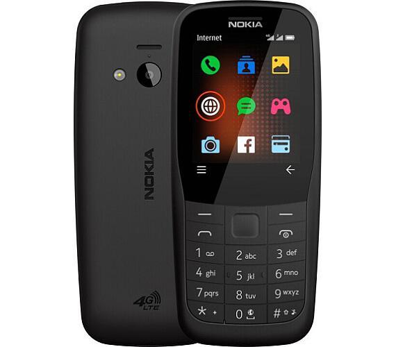 Nokia 220 DS 4G gsm tel. Black