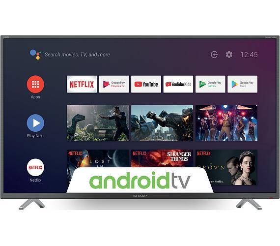 Sharp 40BL2EA ANDROID + DVB-T2 OVĚŘENO + DOPRAVA ZDARMA