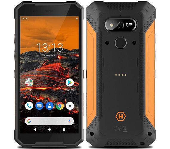 myPhone Hammer Explorer oranžový + DOPRAVA ZDARMA
