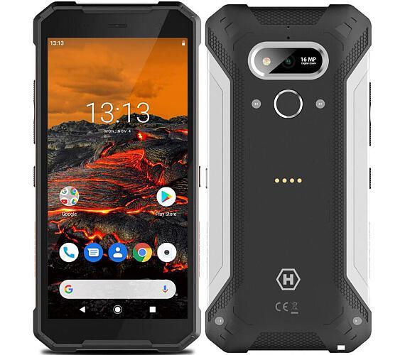 myPhone Hammer Explorer stříbrný + DOPRAVA ZDARMA