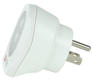 Cestovní adaptér pro použití v USA