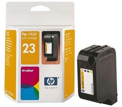 Inkoustová náplň HP No. 23 + DOPRAVA ZDARMA