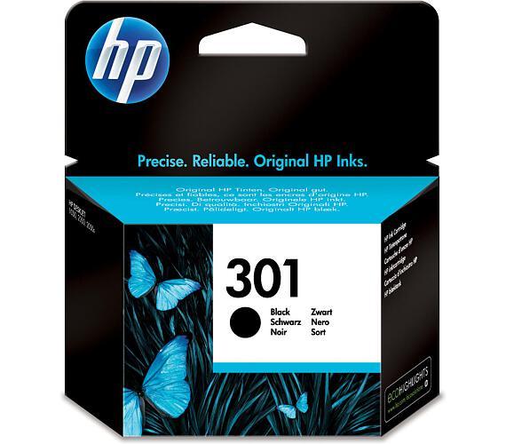 Inkoustová náplň HP No. 301