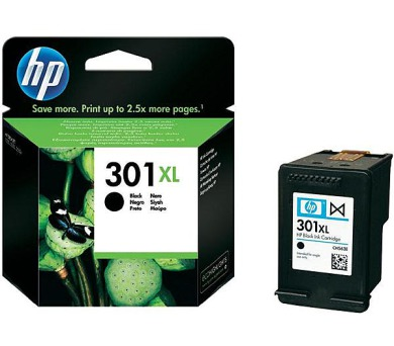 Inkoustová náplň HP No. 301XL