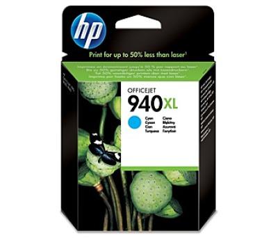 Inkoustová náplň HP No. 940XL originální - modrá