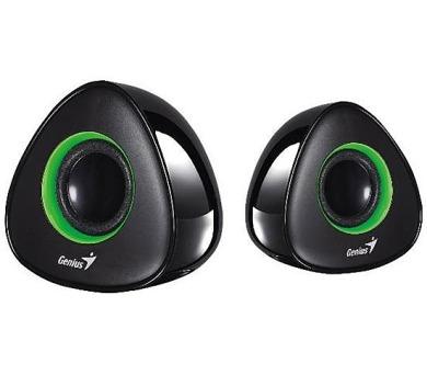 Genius SP-U150X 2.0 - černé/zelené