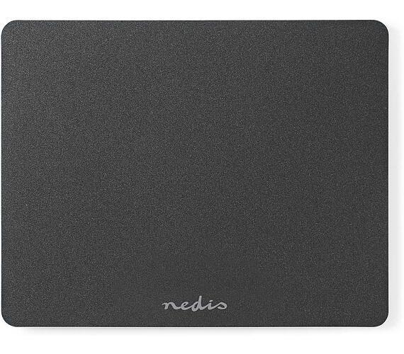NEDIS ergonomická podložka pod myš/ 240 x 190 mm/ ultratenká/ černá (ERGOMPAM100BK)