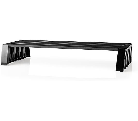 NEDIS ergonomický multifunkční stojan/ na monitor/ černý (ERGOMFS300BK) + DOPRAVA ZDARMA
