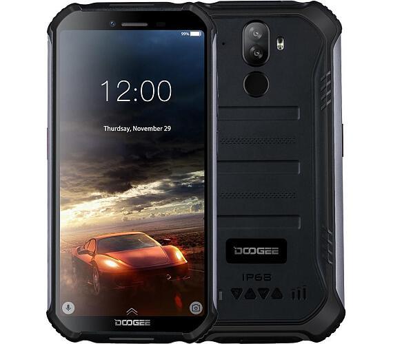 Doogee S40 Lite DualSIM 3G gsm tel. 2+16 GB Black + DOPRAVA ZDARMA