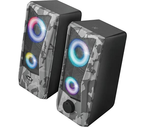 TRUST reproduktory GXT 606 Javv RGB-Illuminated 2.0 Speaker Set (23379)