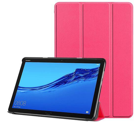 Flipové Pouzdro pro Huawei MediaPad M5 Lite Pink