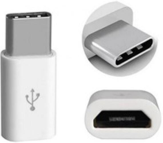 Aligator adaptér micro USB --> USB C pro nabíječky a datové kabely