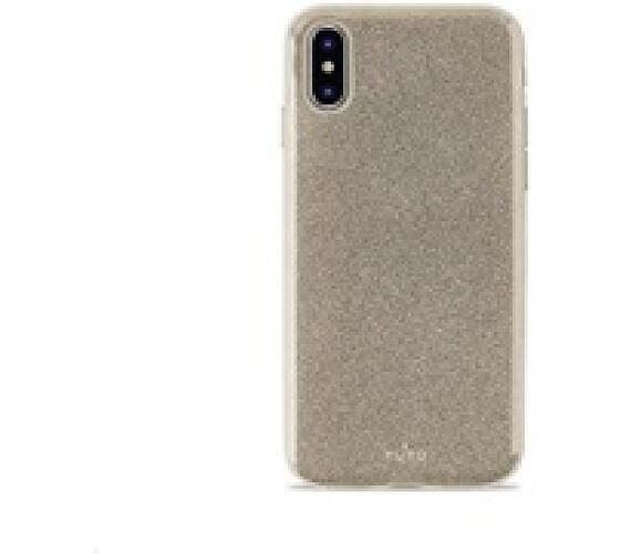 "Puro zadní kryt ""SHINE"" pro iPhone Xs Max 6.5"" Gold (IPCX65SHINEGOLD)"