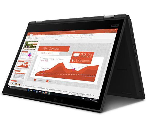 """Lenovo ThinkPad L13 Yoga i3-10110U/8GB/256GB SSD/integrated/13.3"""" FHD IPS/Win10PRO/Black (20R50001MC)"""