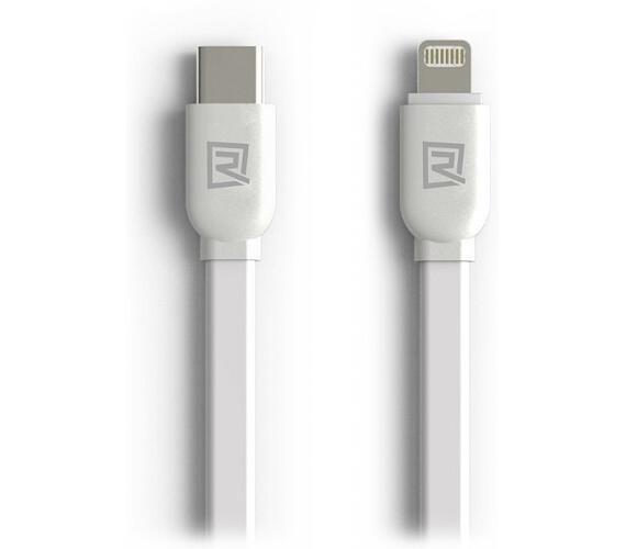 REMAX datový kabel / RC-037a / USB Type-C na Lightning / 1m / bílý (RC-037a white)