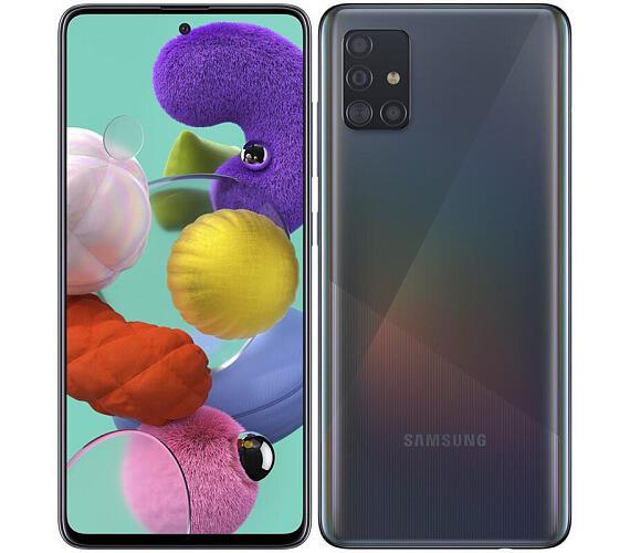 Samsung SM A515 Galaxy A51 Černý + DOPRAVA ZDARMA