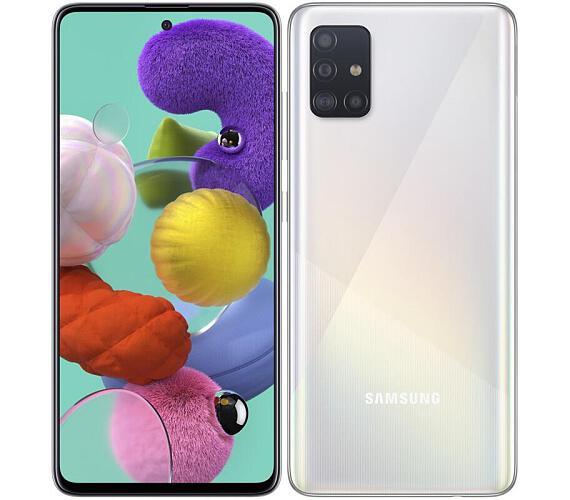 Samsung Galaxy A51 A515 Dual SIM bílý + DOPRAVA ZDARMA