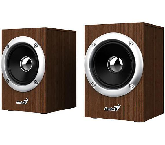 Genius repro SP-HF280/ 2.0/ 6W/ dřevěné/ barva dřevo (31730028400)