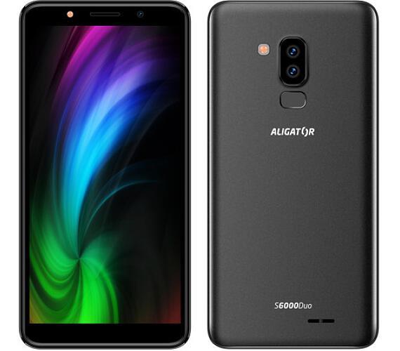 Mobilní telefon Aligator S6000 Duo 16GB černý