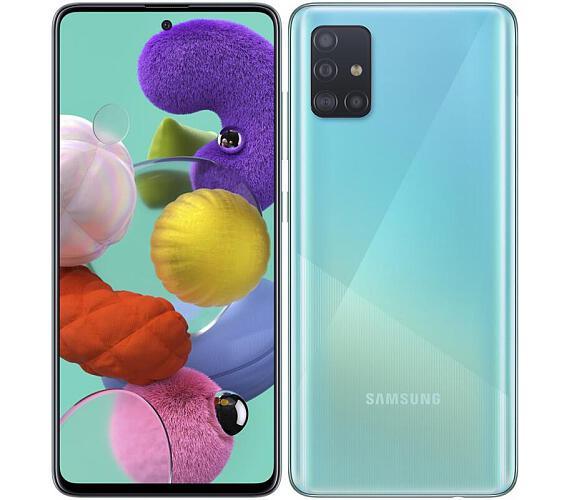Samsung Galaxy A51 SM-A515F Blue DualSIM (SM-A515FZBVEUE) + DOPRAVA ZDARMA