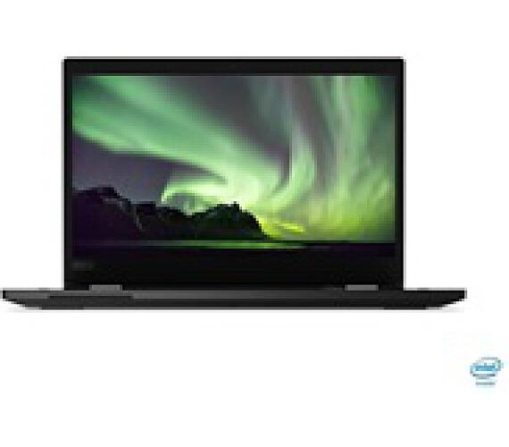 """LENOVO TP L13 Yoga černá - i5-10210U @1.6GHz,13.3"""" FHD IPS Touch,8GB,512SSD,noDVD,HDMI,HDcam,Intel H"""