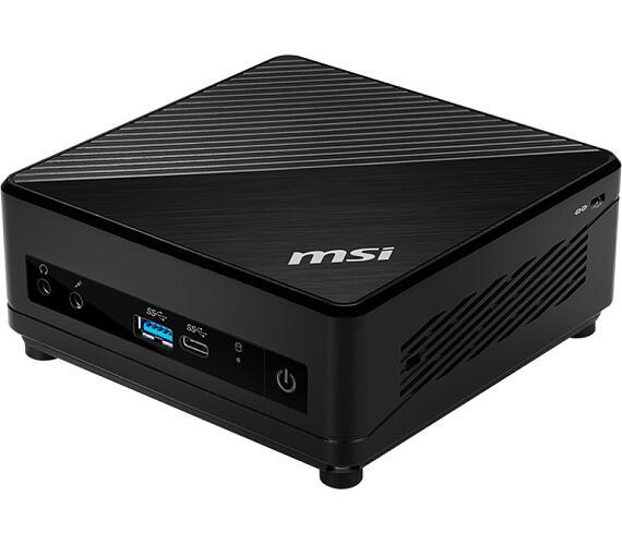 MSI PC Cubi 5 10M-008BEU /Intel i5-10210U/Intel UHD Graphics/Wifi/USB/Bez OS/Black + DOPRAVA ZDARMA