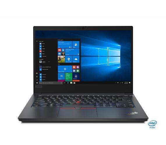 "Lenovo ThinkPad E14 i7-10510U/16GB/256GB SSD+1TB-5400 HDD/integrated/14 "" FHD IPS matný/Win10PRO černý (20RA001GMC)"
