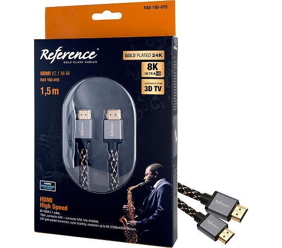 RAV 160-015 HDMI V2.1 M-M 1,5m Reference