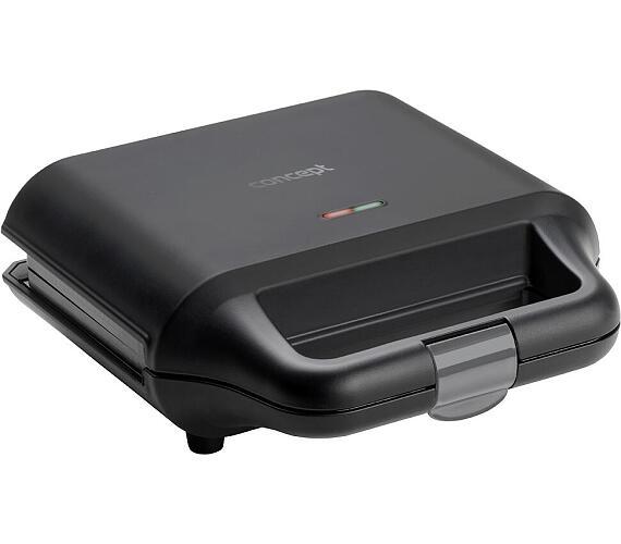 Concept SV3050 Sendvičovač s výměnnými deskami 3v1 700 W + DOPRAVA ZDARMA