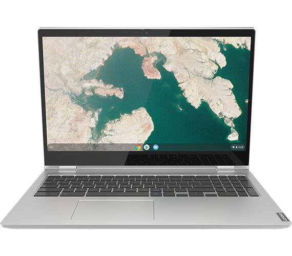 Lenovo Chromebook C340 15.6 FHD/4417U/32GB/INT/Chrome šedý (81T9000JMC)