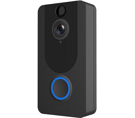 PLATINET bezdrátový zvonek s Wi-Fi kamerou (PVD7B)