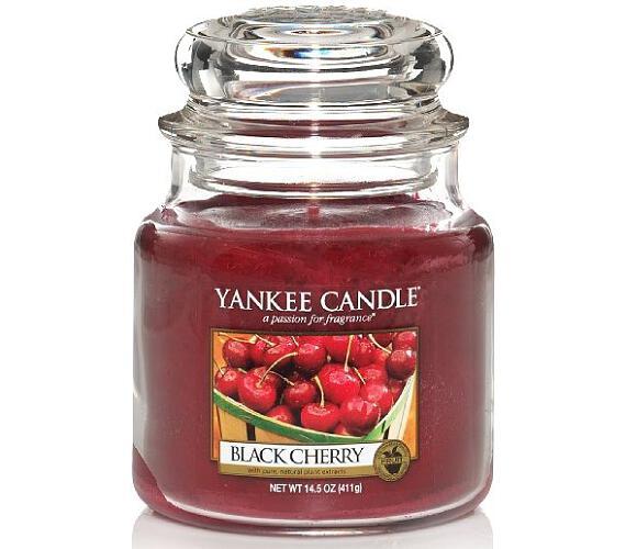 Vonná svíčka Yankee Candle Black Cherry
