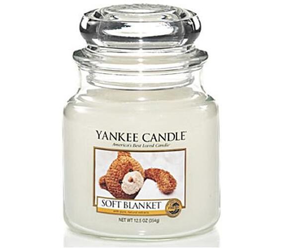 Vonná svíčka Yankee Candle Soft Blanket