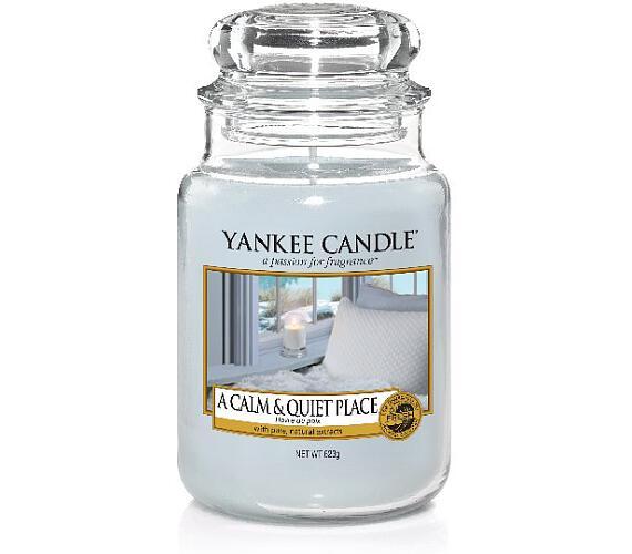 Vonná svíčka Yankee Candle A Calm & Quiet Place
