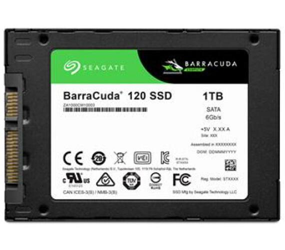 Seagate BarraCuda 120 SSD 2.5""