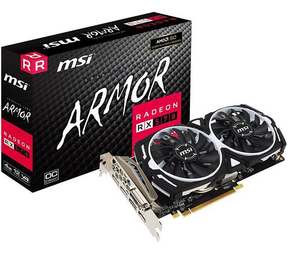 MSI Radeon RX 570 ARMOR 4G + DOPRAVA ZDARMA