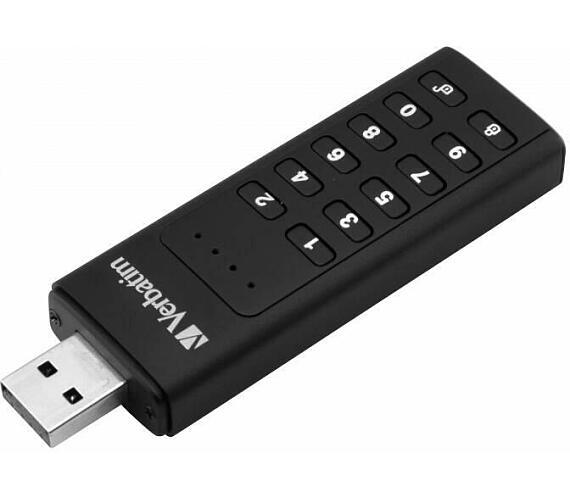 Verbatim USB 3.0 Drive 64 GB - Keypad Secure (R:160/W:140 MB/s) GDPR (49428)
