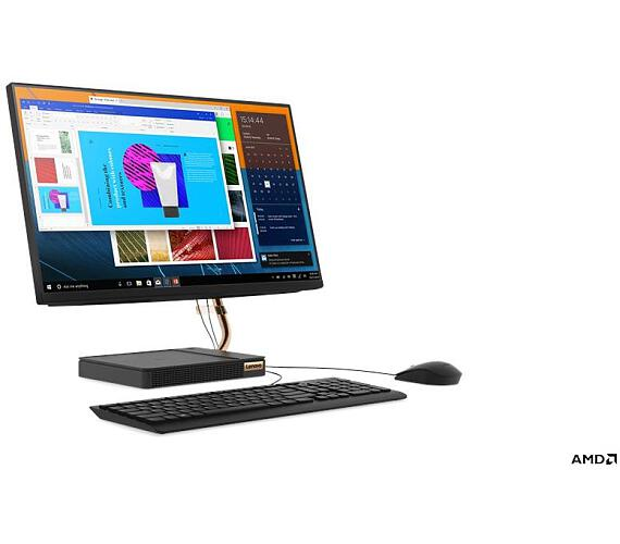 "Lenovo IdeaCentre AIO A540-24API AMD Ryzen 5 4,00GHz/8GB/SSD 256GB+HDD 1TB/23,8"" FHD/IPS/WIN10 černá (F0EM0036CK) + DOPRAVA ZDARMA"