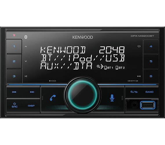 Kenwood DPX-M3200BT + DOPRAVA ZDARMA