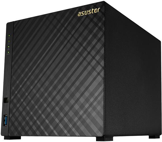 "Asustor NAS AS1004T v2 / 4x 3,5"" SATA III/ Marvell Armada-385 1.6GHz/ 512MB/ 1x GbE/ 2x USB 3.1"