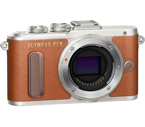 Olympus E-PL8 body brown