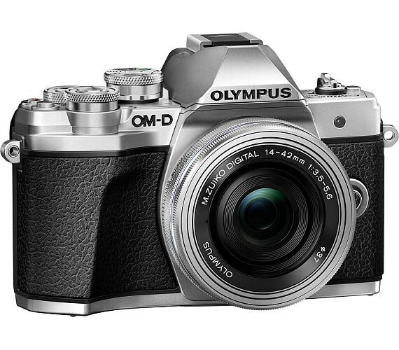 Olympus E-M10 Mark III 1442 kit silver/silver