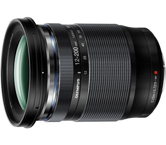 Olympus 12-200 mm (ED-M1220) black + záruka 6 měsíců po registraci na stránkách Olympus*
