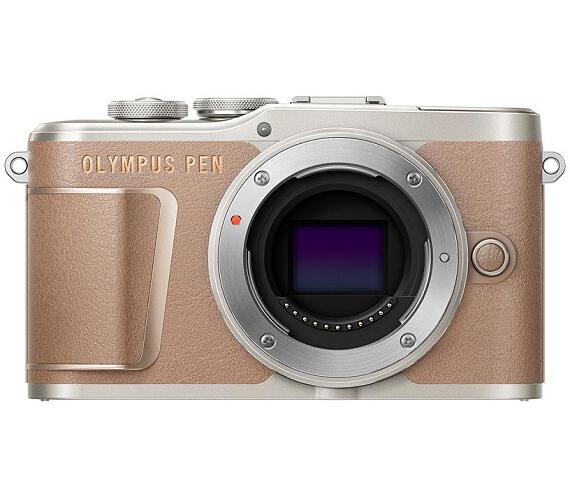 Olympus E-PL10 body brown + DOPRAVA ZDARMA