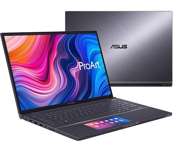 """Asus W730G2T-H8009R i7-9750H/32GB/2TB SSD/Quadro® T2000/17"""" WUXGA IPS/Win10Pro/šedý"""