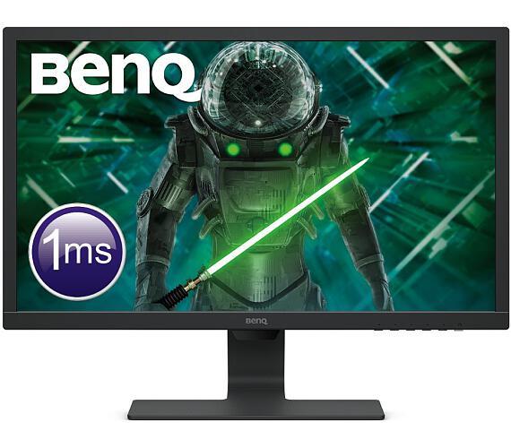 """BENQ 24"""" LED GL2480E/ 1920x1080/ 1000:1/ 1ms/ HDMI/ DVI/ černý (9H.LHXLB.FBE)"""